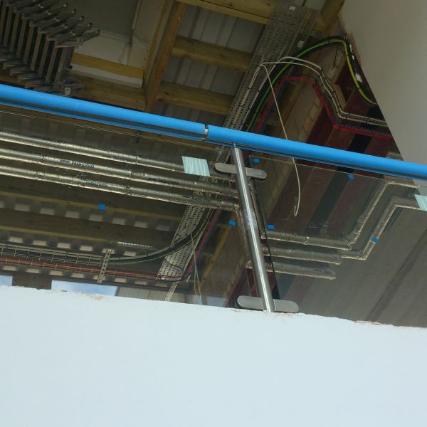 hub balcony detail