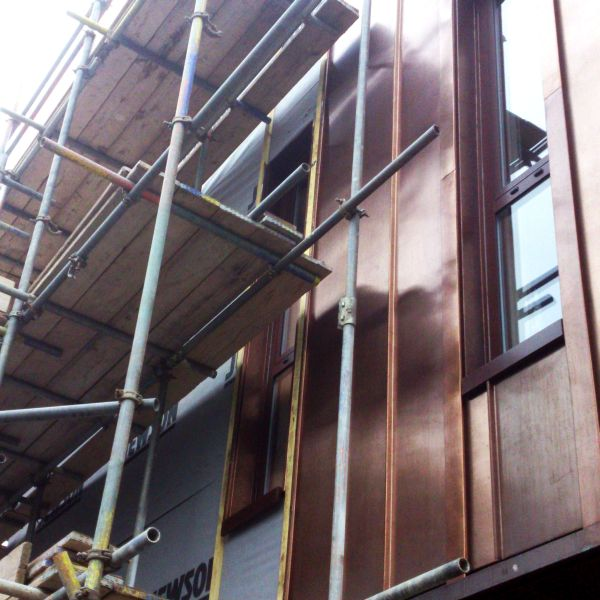 hub copper cladding